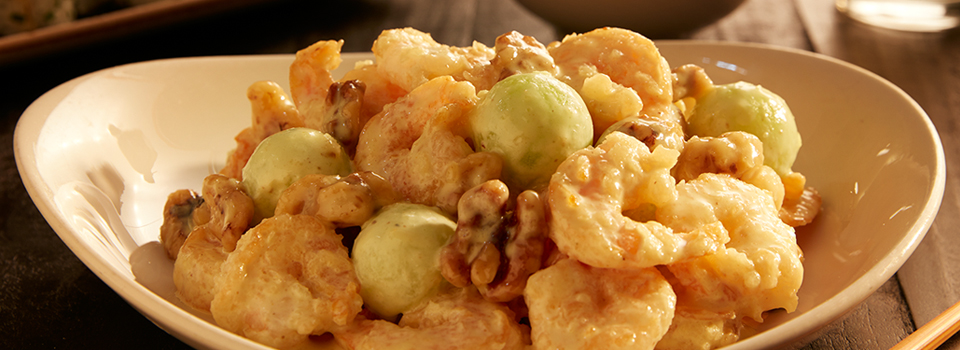 walnut-shrimp